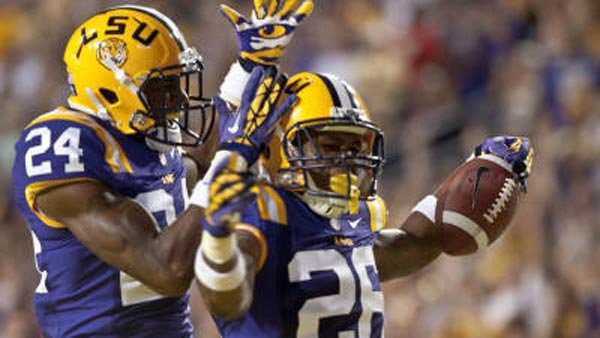 LSU, newly ranked No. 2 in the nation, visits Auburn this weekend. (Source: lsusports.net).