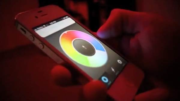 The Kickstarter project, LIFX, to create a smartphone-controlled, Wi-Fi connected lightbulb is showing to be a big hit. (Source:YouTube)