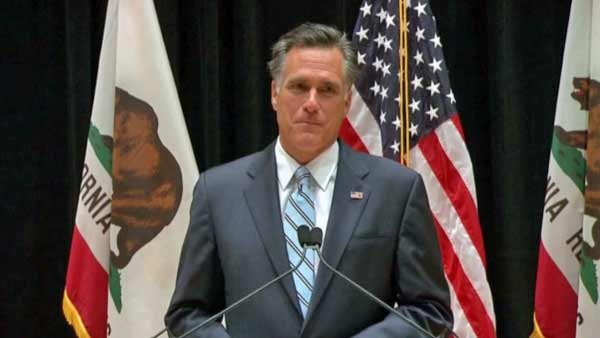 Republican presidential candidate Mitt Romney held a press conference Monday evening, defending his candid remarks made during a private fundraising event. (Source: CNN)
