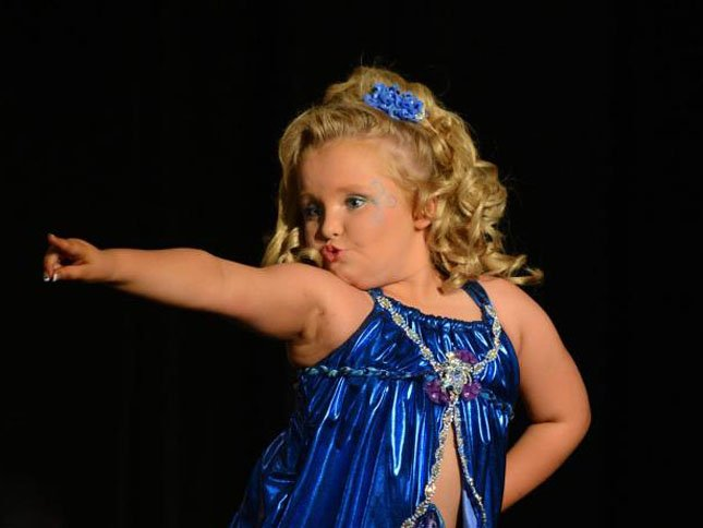 © Alana Thompson aka Honey Boo Boo (Source: http://www.facebook.com/HoneyBooBooChildAlana)