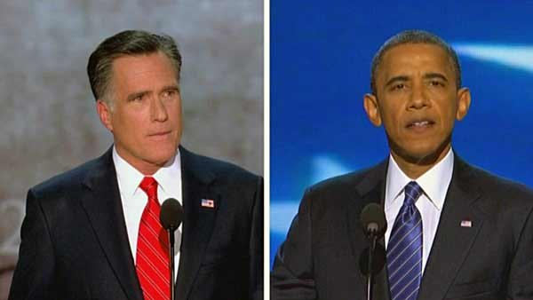 Mitt Romney will face off against President Barack Obama on Wednesday at 9 p.m. ET. (Source: CNN)