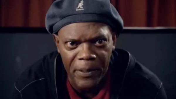 Samuel L. Jackson is appearing in an online video supporting President Obama's re-election. The video was made without the approval of the Obama campaign. (Source: YouTube)