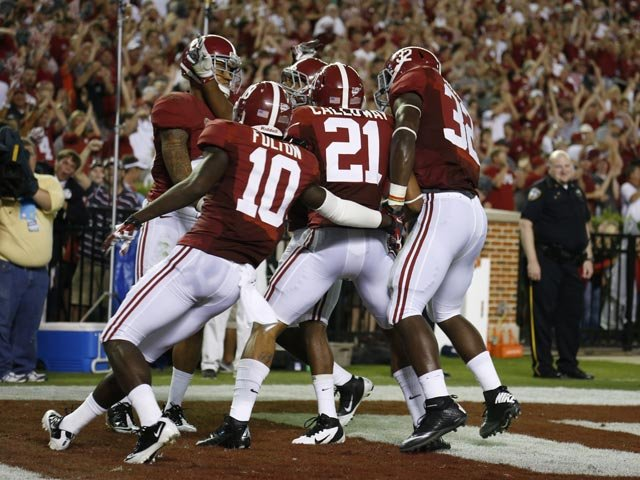 The Crimson Tide defeated the Ole Miss Rebels 33-14 Saturday in Tuscaloosa. (Source: Alabama Athletics Communications)