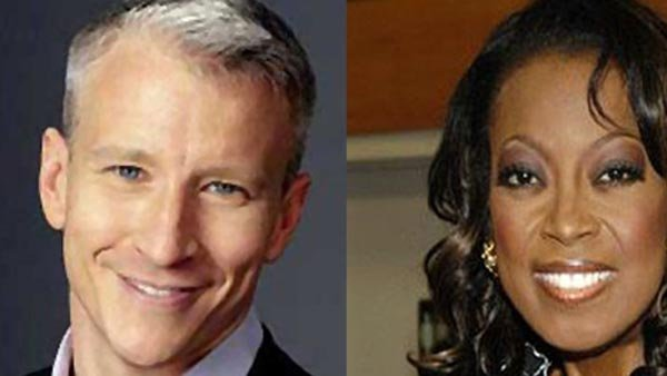 Anderson Cooper slammed Star Jones' accusation that he came out for ratings. (Source: Star Jones photo gallery/ Time Warner)