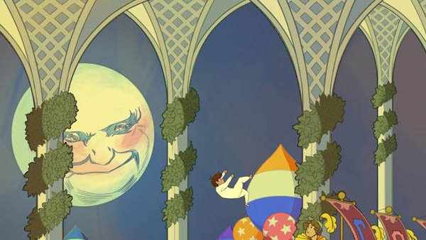 A screengrab from the animated Google doodle honoring Little Nemo in Slumberland. (Source: RNN)