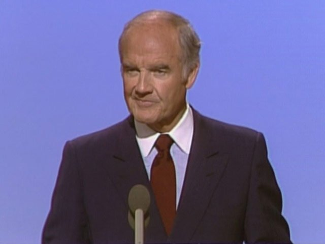 George McGovern served in Congress for more than 30 years and was the Democratic nominee for president in 1972. (Source: CNN)