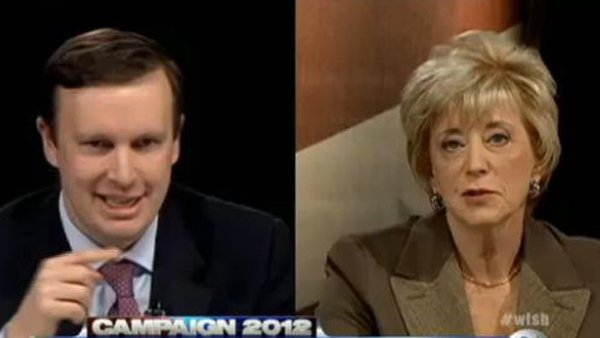 Democrat Rep. Chris Murphy and Republican Linda McMahon vie for a Senate seat in Connecticut (Source: WFSB)