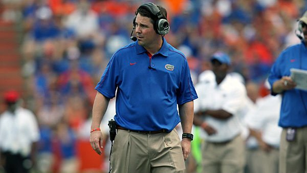 Will Muschamp has guided his team to an undefeated record, and the Gators are no longer