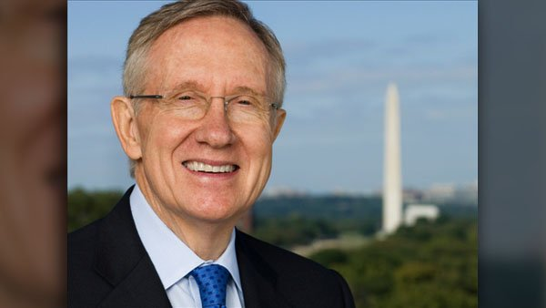 Sen. Majority Leader Harry Reid has been a member of the U.S. Senate since 1986. (Source: Wikicommons)