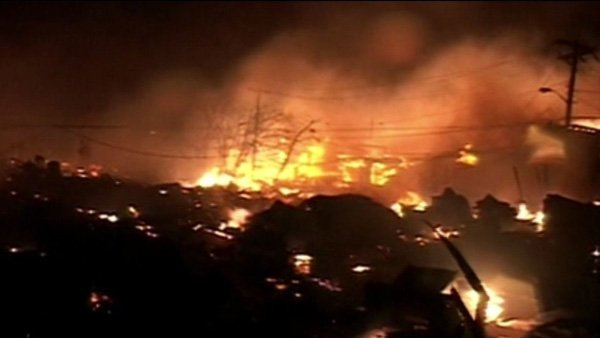 Fires in Queens, NY, destroyed more than 80 homes overnight. (Source: CNN)