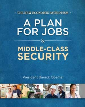 President Obama's plan was released in a booklet. (Source: BarackObama.com)