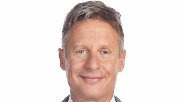 Gary Johnson's presidential campaign goal is to win 5 percent of the popular vote. (Source: GaryJohnson2012.com)