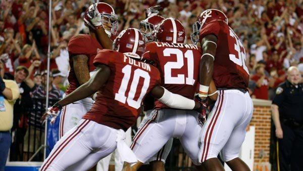 Alabama travels to LSU for its stiffest challenge this year. (Source: Alabama media relations)