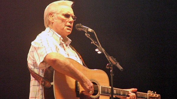 Country music singer George Jones had calmed down a lot from his hard-living lifestyle before he died. (Source: Wiki Commons/BstarXO)
