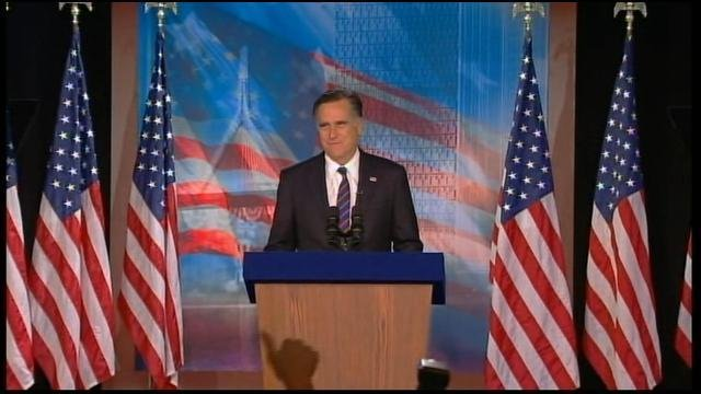 Former Massachusetts Gov. Mitt Romney conceded the election to President Barack Obama on Tuesday. (Source: CNN)