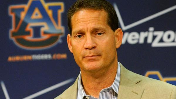 Auburn Undercover is reporting that Gene Chizik's hot seat is heating up at Auburn. (Source: Todd Van Emst)