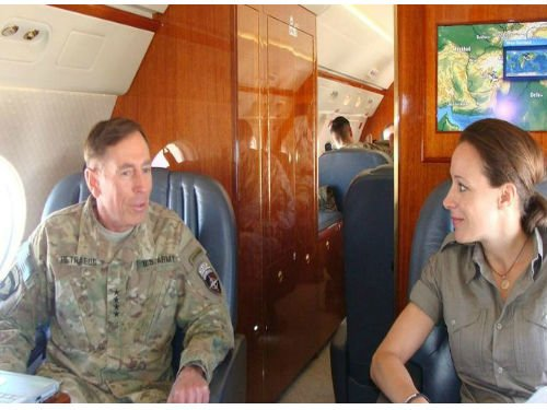 Petraeus, left, and Broadwell. (Source: PaulaBroadwell.com)