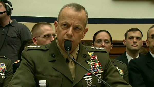 Allen is a four-star general and the commander of the International Security Assistance Force in Afghanistan. (Source: CNN)