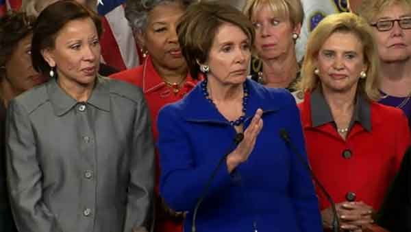 House Minority Leader Nancy Pelosi announced she'll keep her position for the next session of Congress. (Source: CNN)