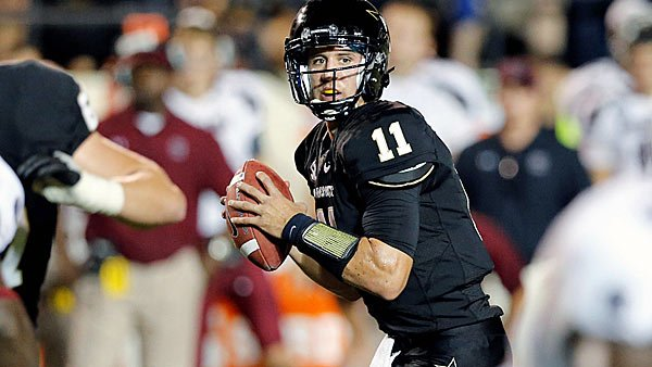 Jordan Rodgers has been the rudder in the Commodores' steady ship, but they're headed for troubled waters come Saturday. (Source: Vanderbilt University Athletics)