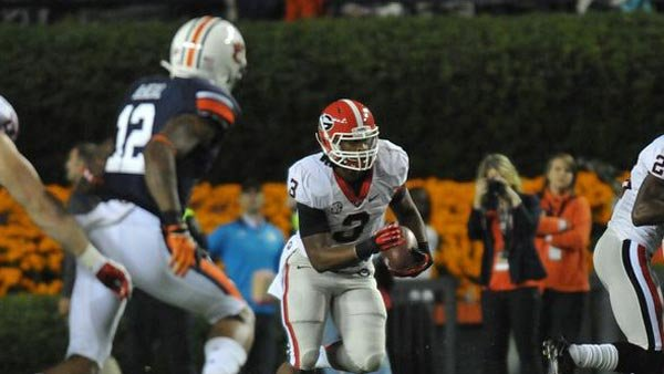 Todd Gurley, another of many reasons why Georgia is back in the national championship picture and set to return to the SEC Championship Game (Source: Wes Blankenship)