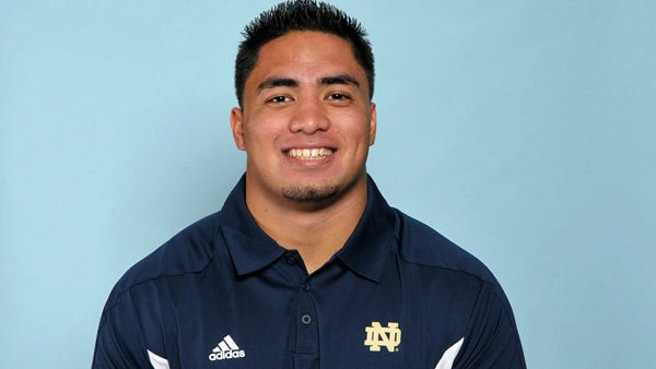 Manti Te'o is the most productive player on the No. 1 team in the nation, but he has Heisman voters' bias toward offensive players working against him. (Source: University of Notre Dame Athletics)