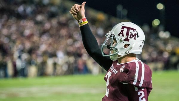 Johnny Manziel made history by being voted the first freshman to win the Heisman Trophy (Source: MGN)