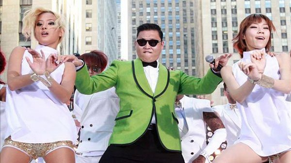 PSY asked Americans to forgive him for his Anti-American performances. (Source:PSY/YOUTUBE)