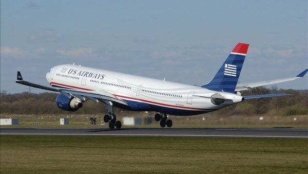 US Airways is based in Tempe, AZ. (Source: Adrian Pingstone/Wikimedia)