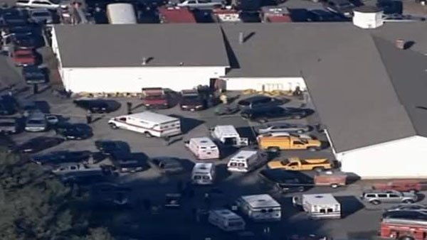 The suspected shooter at a Connecticut elementary school is dead of a self-inflicted gunshot, authorities said. (Source: WFSB)