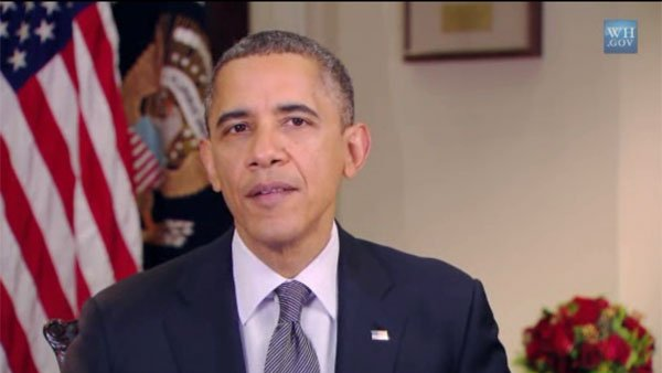 President Barack Obama used his weekly address to talk about the Sandy Hook Elementary shootings of Friday and has made plans to visit Connecticut. (Source: WhiteHouse.gov/CNN)