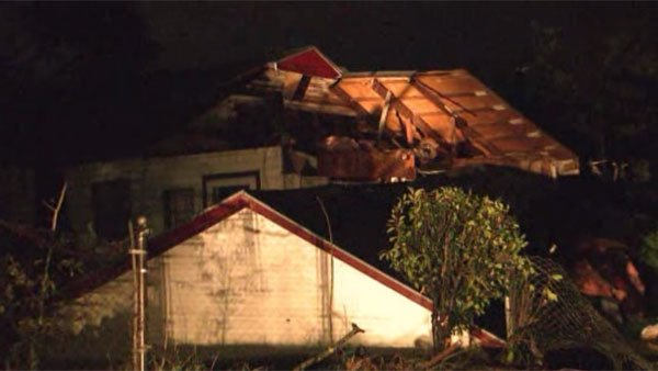 Tornadoes ripped through Mobile, AL, on Christmas Day. (Source: WALA/CNN)