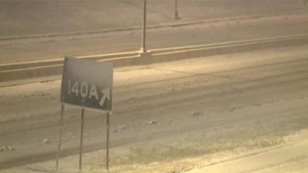 Heavy snowfall and blizzard conditions began Christmas night in Arkansas. Blizzard warnings go into Wednesday morning. (Source: KTHV/CNN)