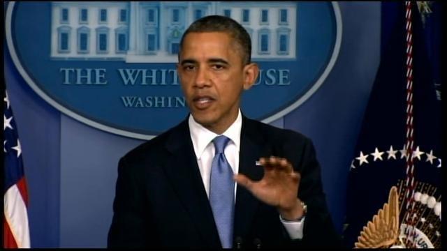 President Barack Obama says he is modestly optimistic a deal will be reached on the fiscal cliff. (Source: CNN)