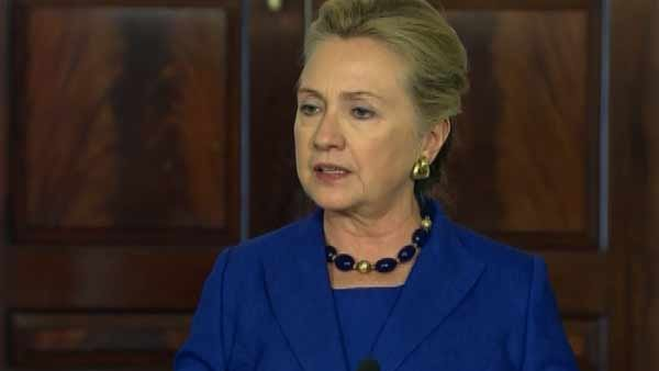 Secretary of State Hillary Clinton has been hospitalized after doctors discovered a blood clot related to a concussion she suffered earlier this month. (Source: CNN)