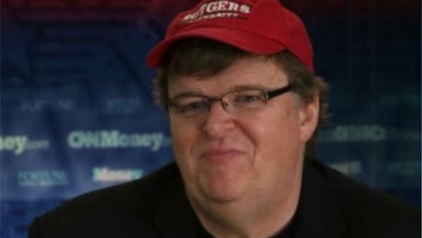 "Director Michael Moore made his 2013 resolutions online - he resolved not to say, ""I support the troops.""  The resolution following clarified the statement. (Source: CNN)"