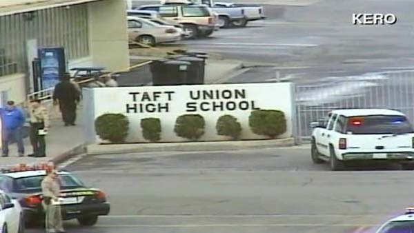 Police have a suspect in custody after a gunman opened fire around 9 a.m. PT at the school. (Source: KERO/CNN)