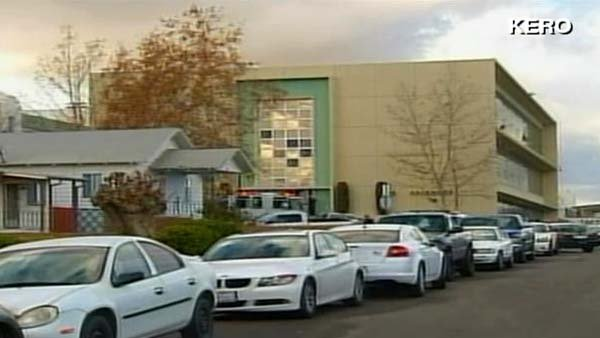 Exterior of Taft Union High School. (Source: KERO/CNN)