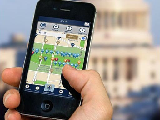 The Presidential Inauguration Committee has released an app that will allow people to follow the event.  (Source: Presidential Inauguration Committee)
