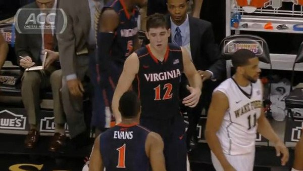 Joe Harris (12) and the Virginia Cavaliers hope to re-ignite their offense against Florida State on Saturday. (Source: ACC Digital Network)