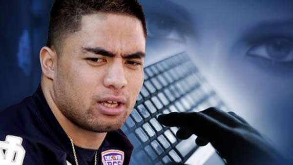 Manti Te'o has been the center of a controversy since the story broke that Lennay Kekua, his much-publicized girlfriend, never existed. (Source: MGN)