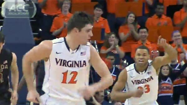 The Virginia Cavaliers are riding a two-game winning streak and looking for more this weekend against Boston College. (Source: ACC Digital Network)