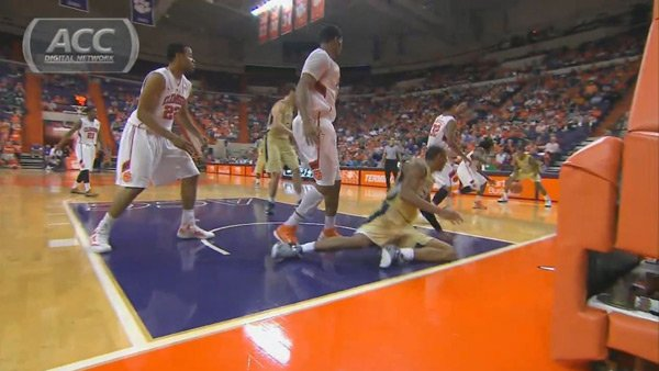Clemson's team has secured wins in the ACC through its sterling defensive play. (Source: ACC Digital Network)
