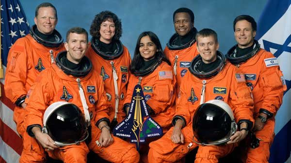 The crew of STS-107 died while trying to land the space shuttle Columbia at Kennedy Space Center in Cape Canaveral, FL on Feb. 1, 2003. (Source: NASA)