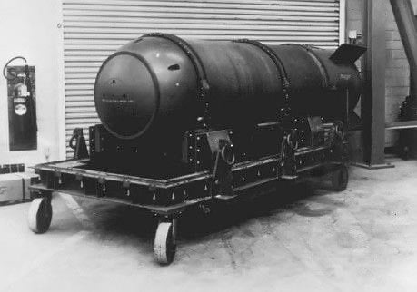 A Mark 15 hydrogen bomb similar to this one is located somewhere off the coast of Savannah, GA.
