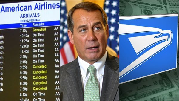 Disrupted travel plans, delayed budgets and discontinued mail services topped this week's headlines.