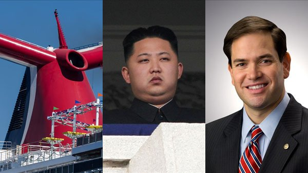 A crippled cruise ship, a communist country and a cotton-mouthed member of congress are just three of this week's big stories.