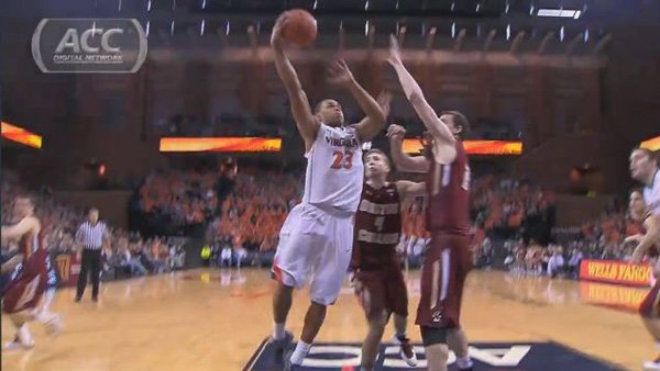 Justin Anderson (23) and the Virginia Cavaliers need to continue their strong play to beat North Carolina, Duke and Miami in the next two weeks. (Source: ACC Digital Network)