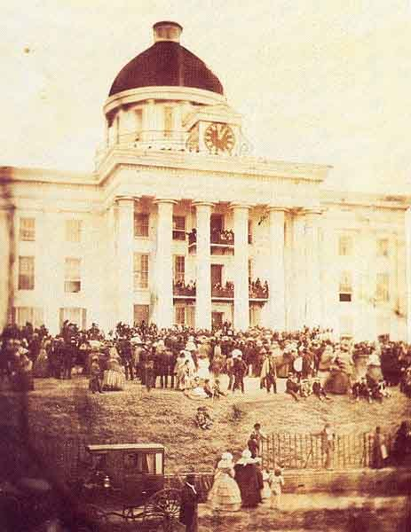 This week marks the anniversary of Jefferson Davis being inaugurated as the President of the Confederacy. (Source: Wikipedia)