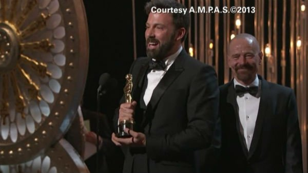 Ben Affleck's Argo was the big winner at the 85th Academy Awards, taking the Best Picture prize. (Source: CNN/A.M.P.A.S.)